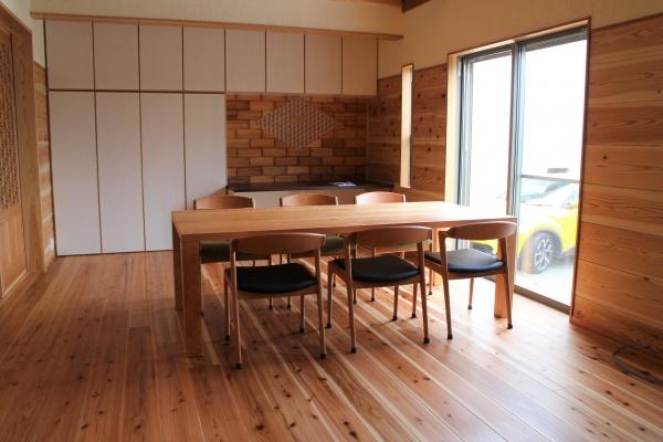 ブラックチェリー 大きなテーブル オーダーテーブル 2mサイズ